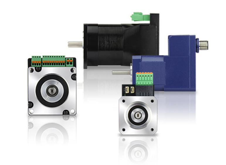 smart servos - brushless dc servo motors with drive / controller